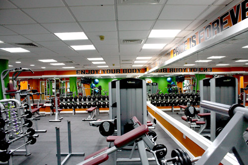 Fitness training centre Dubai